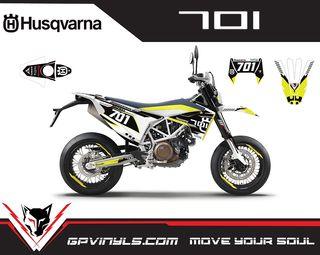 Kit gráficos HUSQVARNA 701