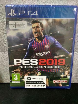PS4 - Pes 2019 Pro Evolution Soccer **Precintado**