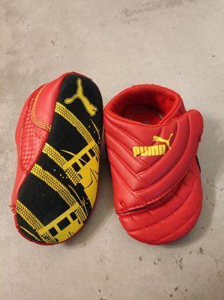 Puma bebe rojas talla 16
