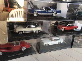 Miniaturas escala coches clásicos,antiguos,1:43