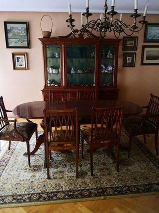 Mesa comedor de segunda mano en la provincia de asturias en wallapop - Wallapop asturias muebles ...