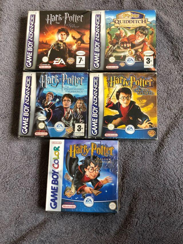 Coleccion Harry Potter Gbc Y Gba De Segunda Mano Por 125 En Leon