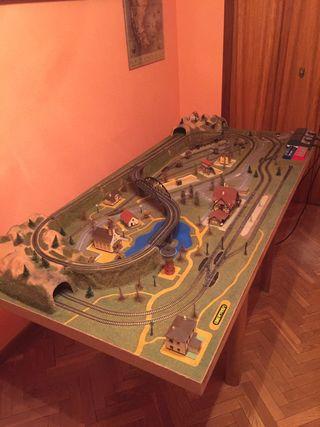 Maqueta de tren Ibertren