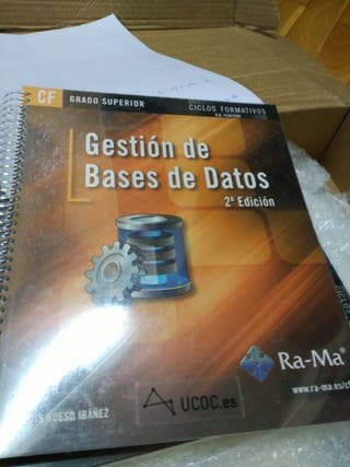 libro gestión base de datos informática