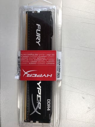 Memoria Kingston HyperX Fury DDR4 2133 8GB