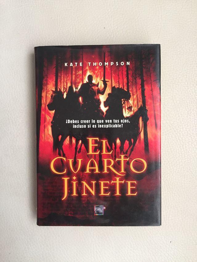 Libro El Cuarto Jinete de segunda mano por 4 € en Andújar en WALLAPOP