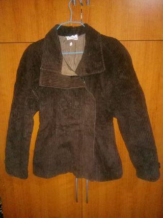 chaqueta de pana marron
