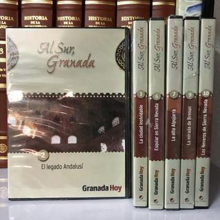 6 DVD Al sur, Granada