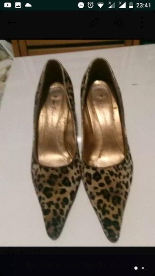 zapatos leopardo