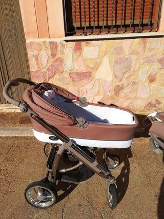 Carrito de bebe Bebecar 3 piezas