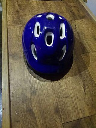 casco para bici o patines niños