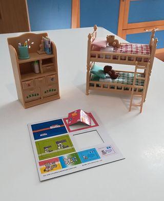 Sylvanian Families: Muebles Habitación Niños