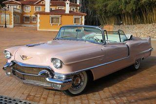 Cadillac Series 62 Convertible Pink 1956