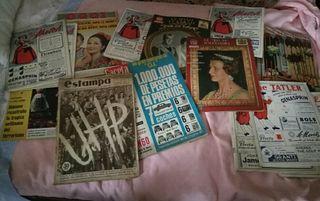 Revistas Ilustradas de la epoca
