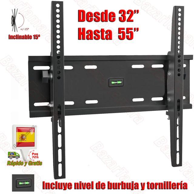 "Soporte TV Pared Inclinable 15º PARA 32 HASTA 55 """