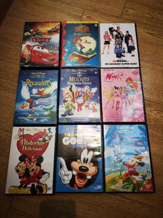 Clásicos de Disney en DVD