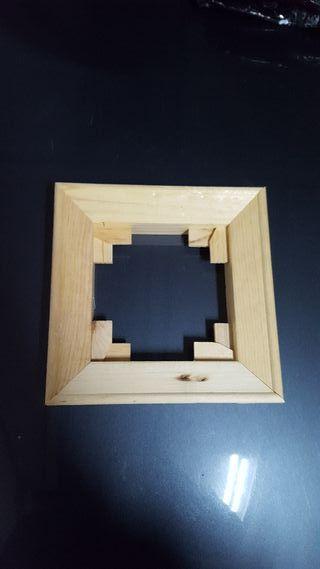 marco marcos de madera