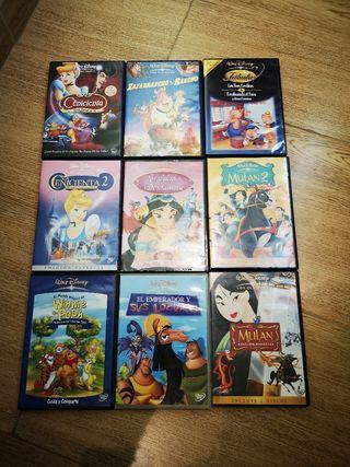 DVDs Clásicos de Disney