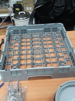 cestas nuevas de lavavajillas y lavavasos