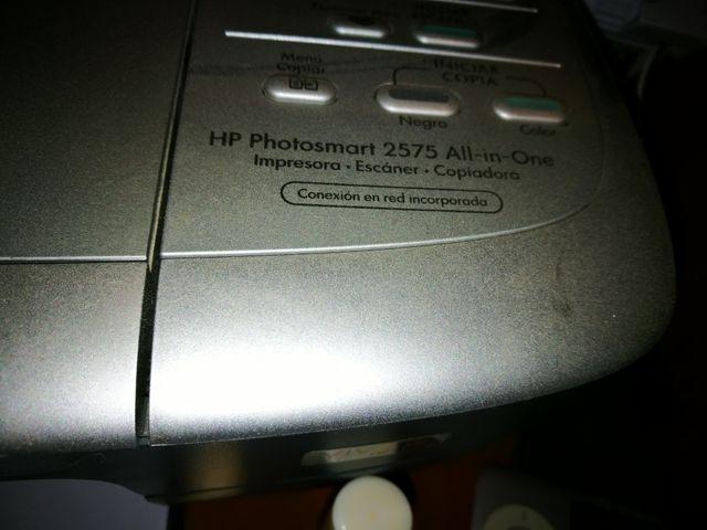 Impresora HP photosmart 2575 all in one