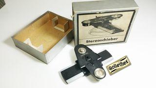 ROLLEIFLEX Stereoschieber con caja