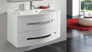 Mueble lavabo+espejo camerino