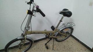 Bicicleta plegable en PERFECTO ESTADO!!