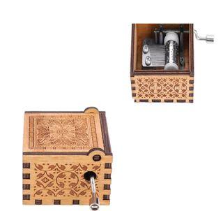 caja de música de madera, de juego de tronos