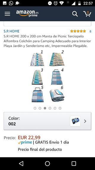 S.R HOME 200 x 200 cm Manta de Picnic Terciopelo Alfombra Colch/ón para Camping Adecuado para Interior Playa Jard/ín y Senderismo etc Impermeable Plegable.