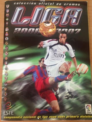 Álbum cromos LIGA 2006-2007