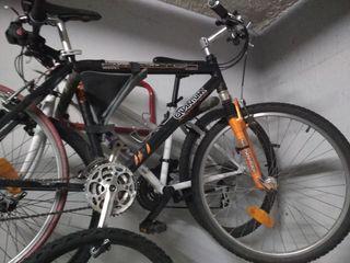 bicicleta mtb usada en rodillo