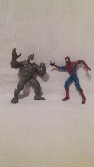 Spiderman y Rhino Toy Biz 1997