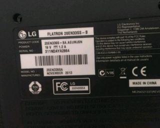 Pantalla Ordenador LG +regalo teclado Packard Bell