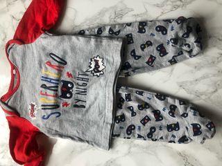 Superman pyjama set 0-3 months