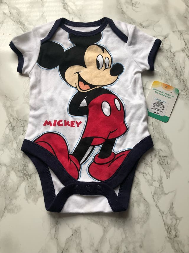 Mickey Mouse vest 0-3 months