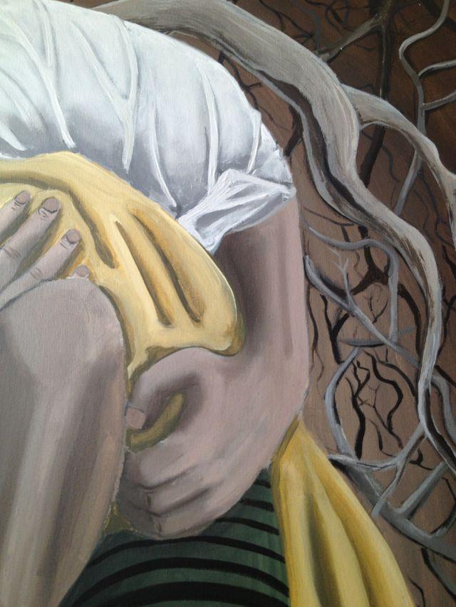 "Cuadro grande ""Blancanieves"" 81x100 cm"