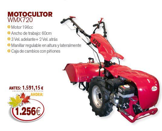 Motocultor wmx720 de segunda mano por en la - Motocultor segunda mano ...