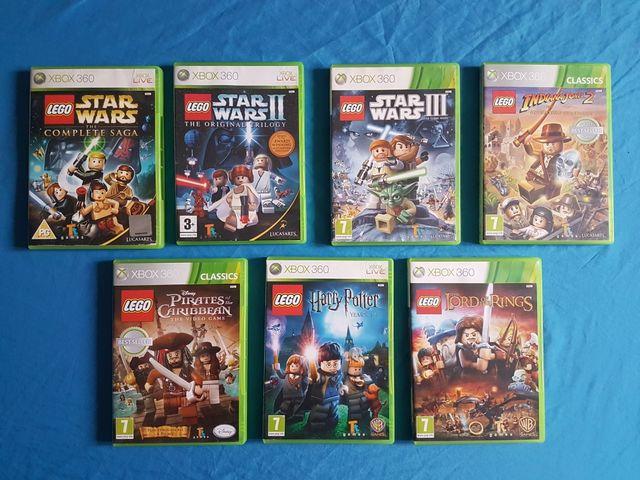 Xbox360 Lego Pack 7 Juegos De Segunda Mano Por 80 En La Linea De