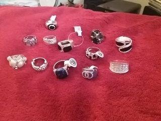 anillos de bisuteria
