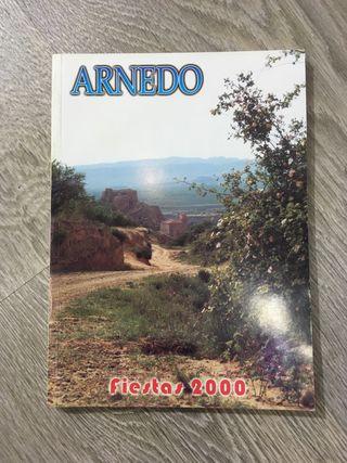 Programa fiestas Arnedo año 2000