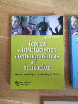 Teorias e instituciones contemporaneas de educació