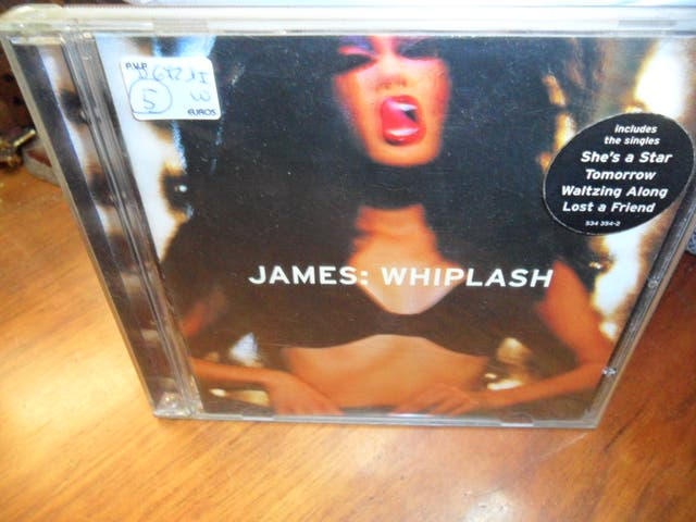 CD JAMES WHIPLASH de segunda mano por 5 € en El Moli en WALLAPOP