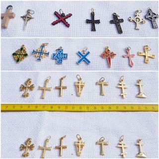 Coleccion cruces con colgante NUEVAS