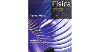 el volumen 2 de Tipler mosca