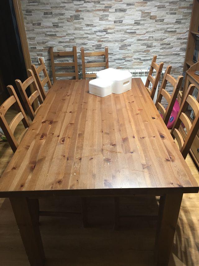 Conjunto mesa + sillas comedor Ikea de segunda mano por 260 € en ...