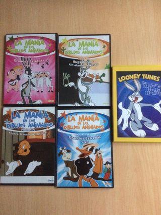 """Dvd """"La mania de los dibujos animados"""""""