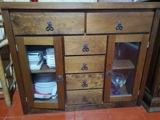 mueble de madera rústico. LLEGAN LAS REBAJASSSS