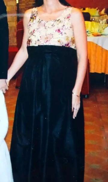 Vestido fiesta premamá 38-40.