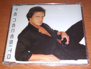CD SINGLE LUIS MIGUEL TE NECESITO (PRECINTADO)