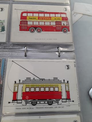postales tranvía Barcelona